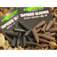 Korda Silikonové převleky Tapered Silicone Sleeves Brown 10ks