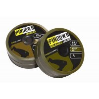 Avid Carp Těžká šňůra Pindown Unleaded Leader 65lb 7m weed/silt