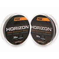 Fox šňůra Horizon Semi Buoyant Camo Braid 0,20mm 35lb 300m