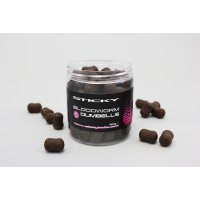 Sticky Baits Dumbells boilies Bloodworm 12mm 160g