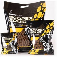 Nash Scopex & Squid Stabilised Flake Boilies 1kg krájené boilies
