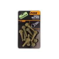 Fox Edges Tadpole Multi bead khaki 10ks