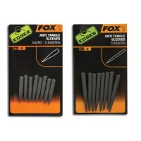 Fox Edges převlečky Tungsten Anti Tangle Sleeves Standard 8ks