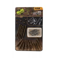 Fox Edges Camo Slik Lead Clip Kit vel. 10 5ks