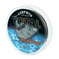 Carp ´R´ Us Pletená šňůra Total Shock Braid 0,30mm 50lb 100m 22,6kg