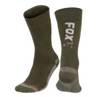 Fox Ponožky Collection Green Silver Thermolite Long Sock vel. 6-9/40-43