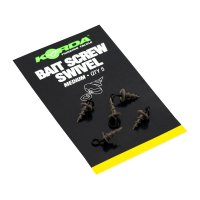 Korda Bait Screw Swivel Medium 5ks