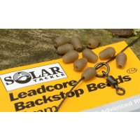 Solar Zarážky na olověnku Leadcore Backstop Beads 4mm green 20ks